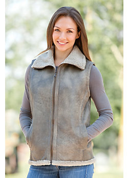 Women's Carla Shearling Sheepskin Vest