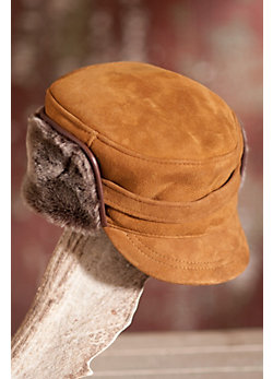 Spanish Merino Shearling Sheepskin Hat