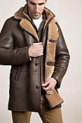 Men's Daniel Shearling Sheepskin Coat