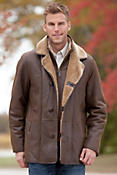 Men's Carter Shearling Sheepskin Coat