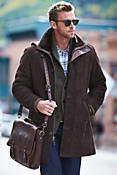 Men's Brunswick Shearling Lambskin Car Coat
