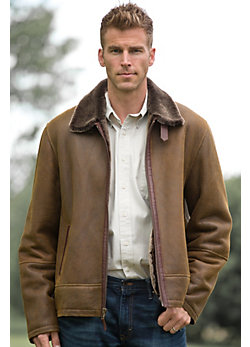 Men's Tribeca Shearling Jacket