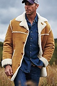 Men's El Dorado Shearling Sheepskin Coat