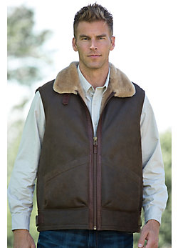 Men's General Patton Shearling Sheepskin Vest