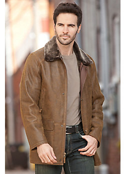 Eric Shearling Sheepskin Coat