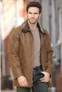 Men's Bostonian Shearling Sheepskin Coat