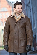 Men's Madison Shearling Sheepskin Coat