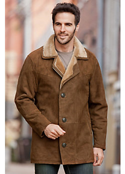 Men's Executive Shearling Sheepskin Coat