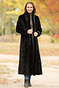 Women's Hayley Reversible Danish Mink Fur Coat