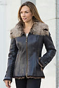 Women's Katia Shearling Sheepskin Coat