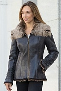 Women's Katia Toscana Sheepskin Coat