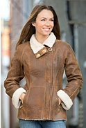 Women's Alexandra Shearling Sheepskin Jacket