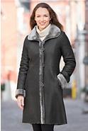 Delaney Reversible Shearling Sheepskin Coat