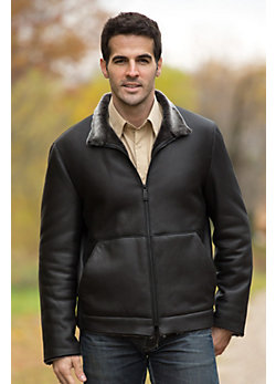 Men's Piers Shearling Sheepskin Jacket