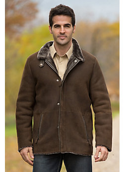 Men's Benjamin Shearling Sheepskin Coat