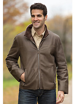Men's Ethan Shearling Sheepskin Jacket