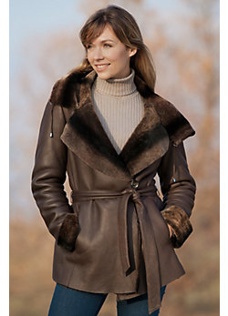 Women's Damali Shearling Sheepskin Coat