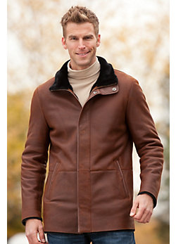 Men's Nolan Shearling Sheepskin Jacket