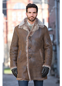 Men's Jerome Shearling Sheepkin Coat