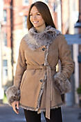 Women's Lavonne Toscana Sheepskin Coat