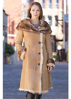 Women's Norma Toscana Sheepskin Coat