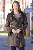 Women's Tammi Toscana Sheepskin Coat