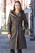 Women's Nadia Shearling Sheepskin Coat