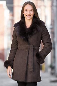Vivien Shearling Sheepskin Coat