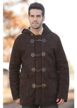 Men's Jackson Shearling Sheepskin Duffle Coat
