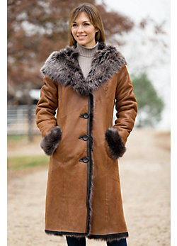 Women's Renata Toscana Sheepskin Coat