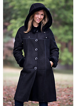 Women's Kibre Shearling Sheepskin Coat