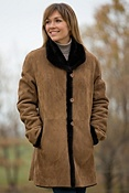 Women's Tatum Shearling Sheepskin Coat