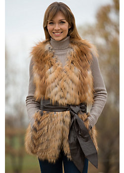 Women's Vanessa Fox Fur Vest