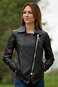 Women's Shonna Lambskin Leather Biker Jacket