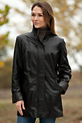 Women's Sausalito Lambskin Leather Jacket