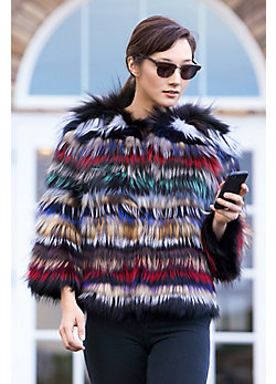 Cecily Fox Fur Jacket