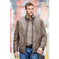 Men's Dayton Shearling Sheepskin Jacket, Distressed Brown, Size 38 Western & Country
