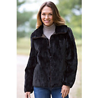 Women's Hera Reversible Sheared Mink Fur Jacket, Bronze, Size Medium (10-12) Western & Country