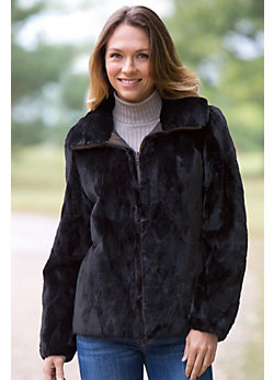 Women's Hera Reversible Sheared Mink Fur Jacket
