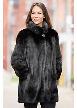 Delilah Mink Fur Jacket