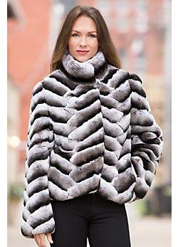 Matteo Rex Rabbit Fur Jacket