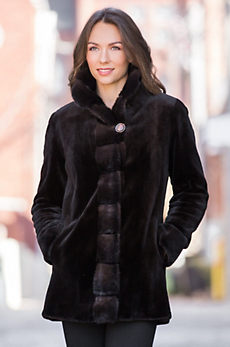 Aurora Danish Mink Fur Jacket