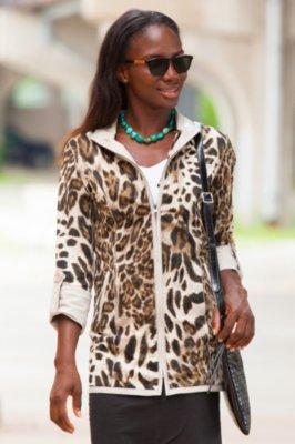 Rebecca Reversible Lambskin Leather Coat