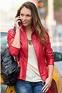 Greenwich Lambskin Leather Jacket