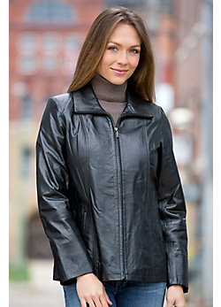 Women's Zelda Lambskin Leather Jacket