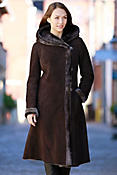 Women's Nanette Spanish Merino Shearling Sheepskin Coat