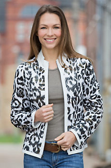 Nicky Reversible Lambskin Leather Jacket