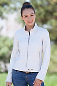 Women's Zola Short Leather Jacket