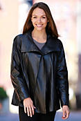 Women's Esmerelda Swing Lambskin Leather Jacket