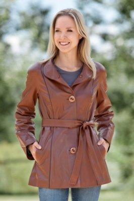 Reya Lambskin Leather Jacket